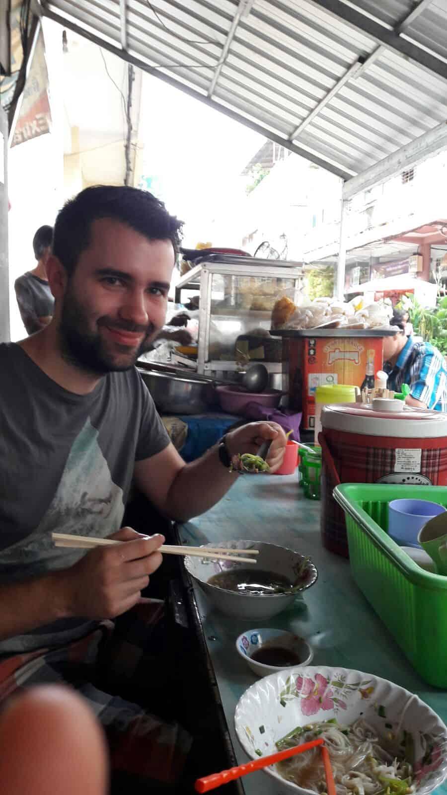 Breakfast in Battambang