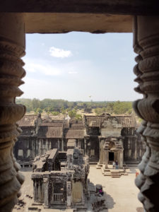Angkor Wat - View from the Main Tower