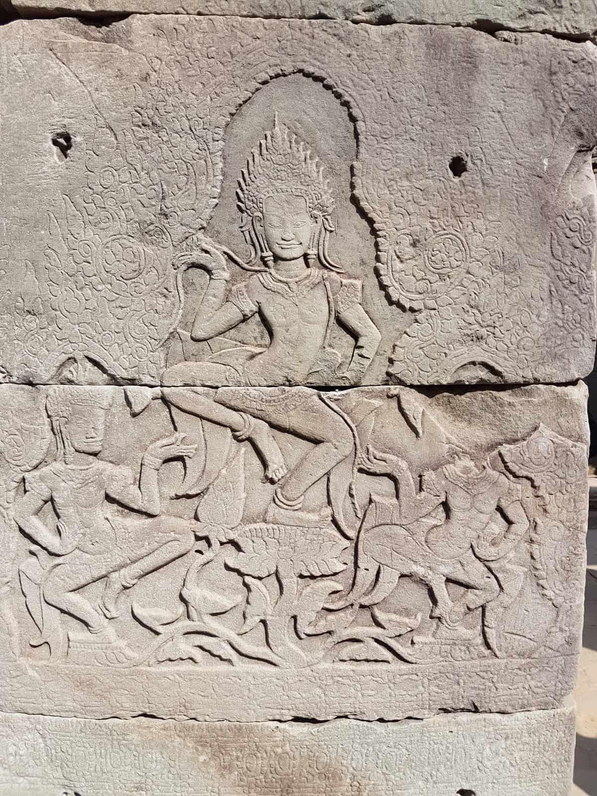 Apsara Relief