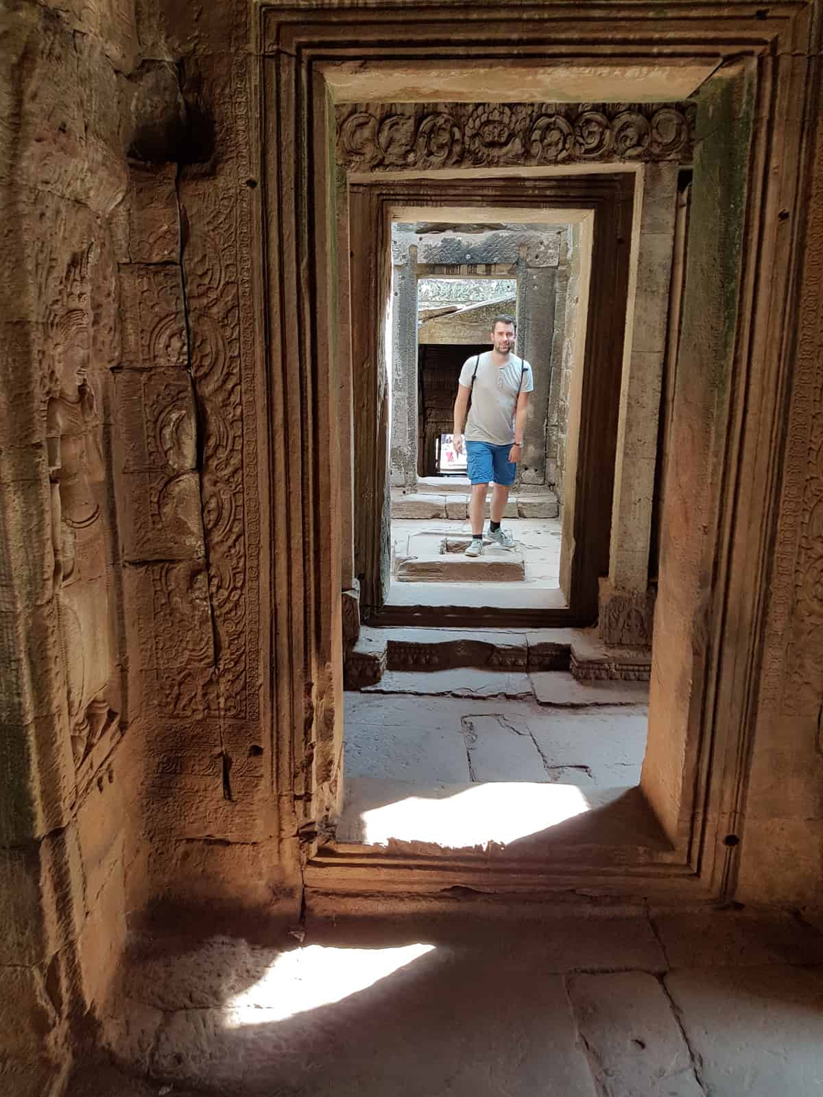 Inside the Bayon