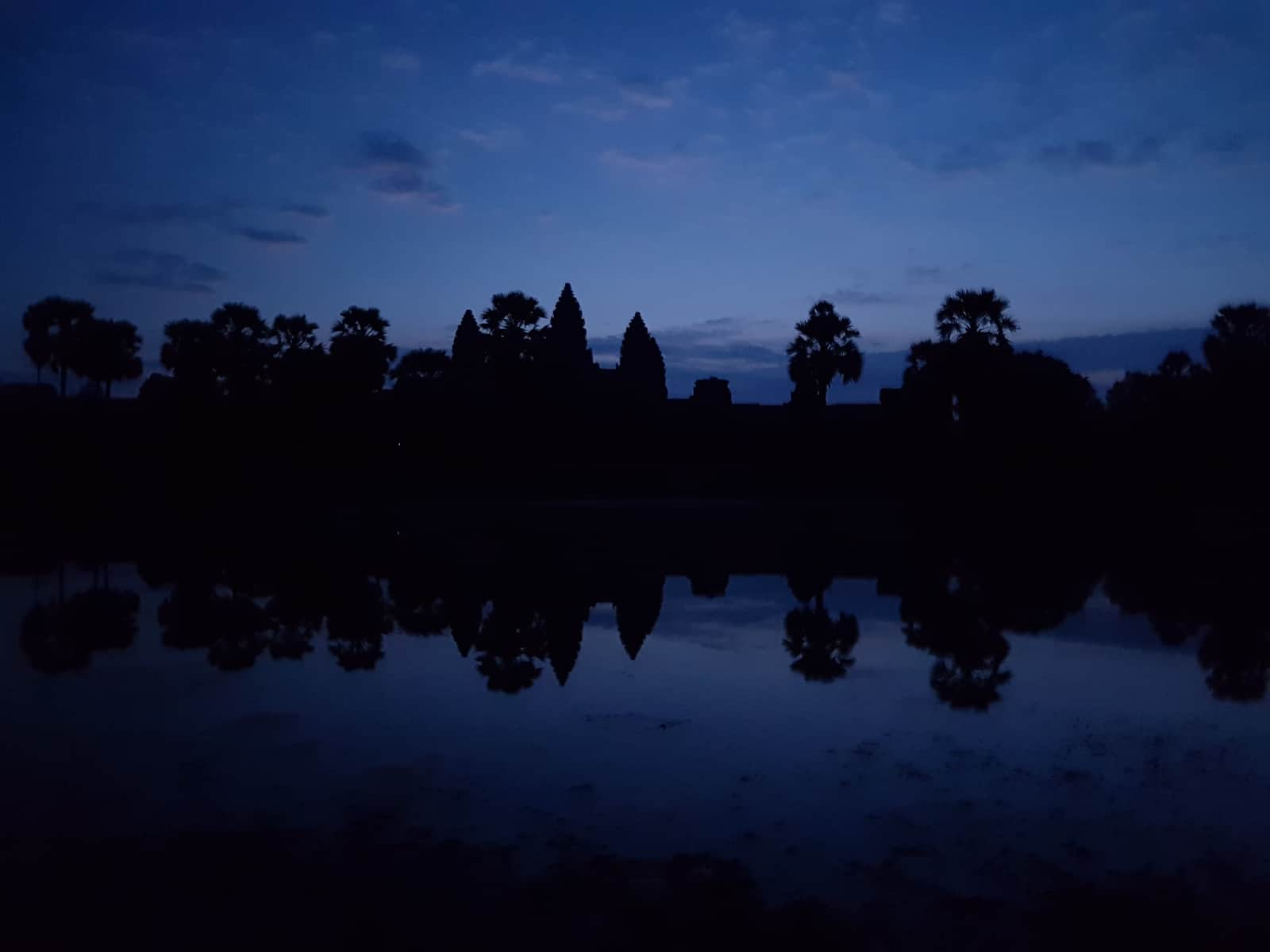 Angkor Wat before Sunset