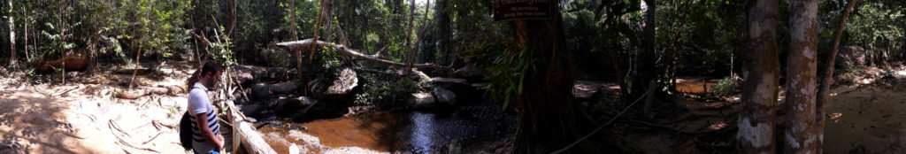 Panoramic View of Kbal Spean