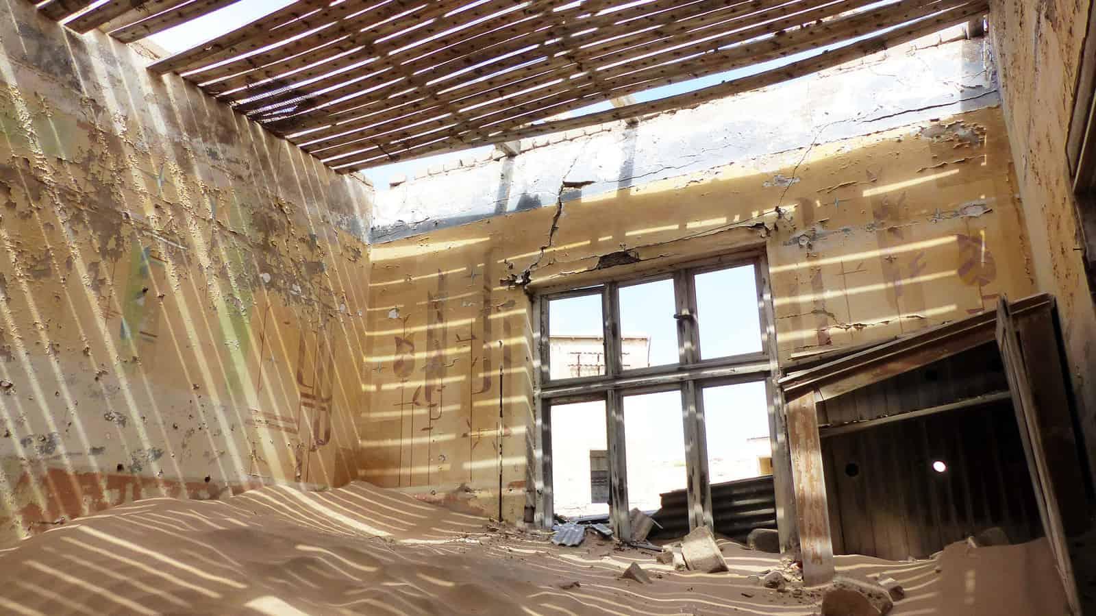 Kolmanskop Lost House Shadows