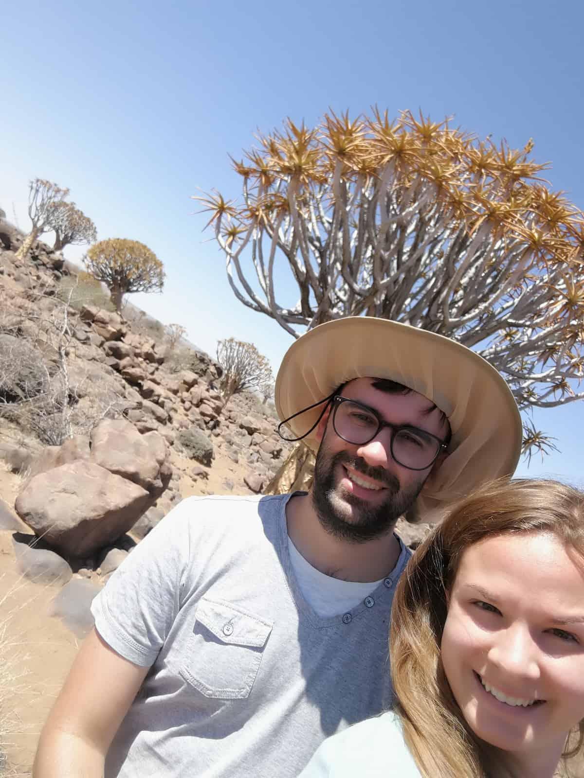 Quiver Tree Selfie