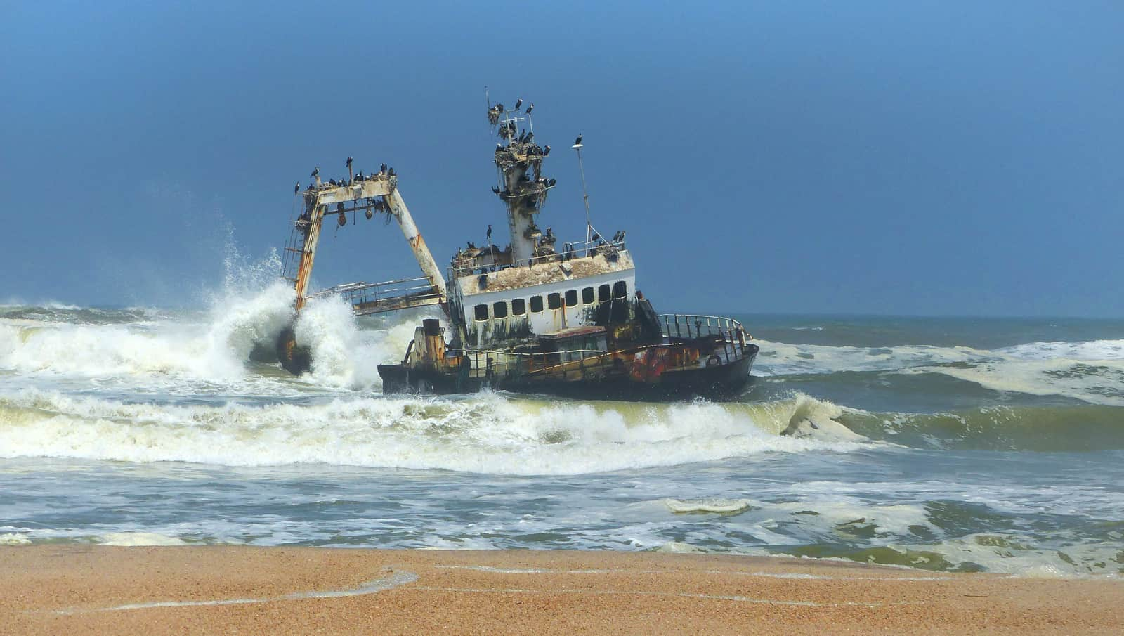 Zeila Shipwreck on the Skeleton Coast