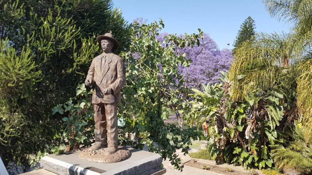Statue of Hendrik Witbooi